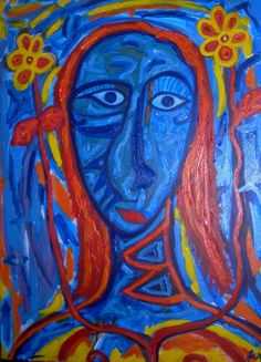Blue Woman, Julio Sanchez