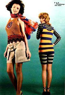 L'Officiel 1971 (no. 582)   Yves Saint Laurent Printemps-Eté  Photo Roland Bianchini