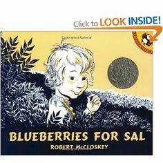 TeacherMomPlus3: Blueberries for Sal/ B is for Bear
