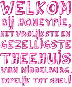 Welkom bij HoneyPie