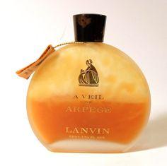Vintage 1960s A Veil of Arpege by Lanvin 1 3/4 oz by perfumefetish