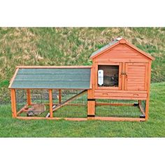 Trixie Rabbit Hutch With Outdoor Run And Wheels 62333