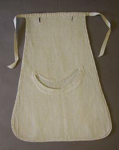pockets worn under a dress