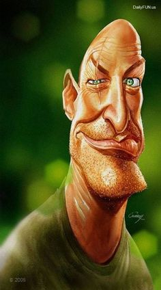 Incredible Funny Actors Caricatures