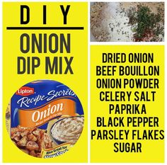 Onion Soup/Dip Mix | 15 Boxed Food Mixes You Never Have To Buy Again