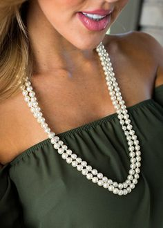 My Pearls Necklace