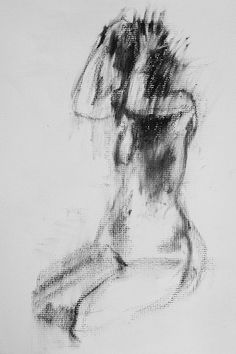 Female figure practice   It shows so much movement, it is amazing.