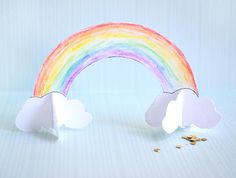 Quick and Easy Paper Rainbow – Lesson Plans