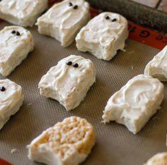 Rice Krispies Treats Ghosts See More 2