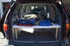 How to Convert a Toyota Minivan into a Campervan