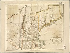 Maps are fascinating! File:Map of the northern, or, New England states of America, comprehending Vermont, New Hampshire, District of Main, Massachusetts, Rhode Island, and Connecticut (4579390190).jpg - Wikimedia Commons