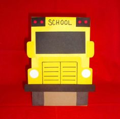 School Bus Birthday Party Treat Sacks School by jettabees on Etsy, $15.00