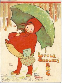 """Mabel Lucie Attwell, for """"LITTLE SCHOLARS ABC"""""""