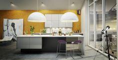 A la Carte -keittiöt Inverno ja Moderato | #keittiö #kitchen