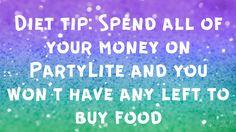Great tip!  PartyLite.biz/melisah