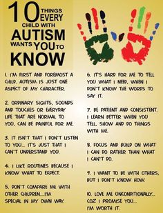 #Autism Top 10 To Know!Penina Rybak MA/CCC-SLP, TSHH CEO Socially Speaking LLC Website: www.SociallySpeakingLLC.com