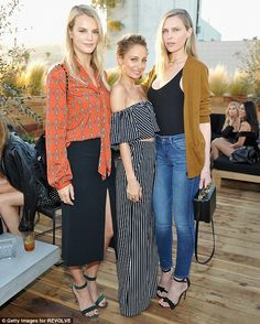Kelly Sawyer, Nicole Richie, and Sara Foster at the House Of Harlow 1960 x REVOLVE launch party in Los Angeles on June Fashion Line, Fashion Brand, Fashion Looks, Her Style, Cool Style, Sara Foster, Nicole Richie, Spring Summer Fashion, Spring Style
