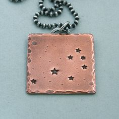 Seven Sisters Constellation Necklace  The by MadamePoindextra