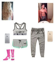"""""""A date with Cameron"""" by kylie-shawn-forever ❤ liked on Polyvore featuring moda, Hollister Co. y NIKE"""