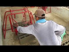 Roel Hollow block Machine Sponsored by Blindfoul Indoors - YouTube Construction Business, The Creator, Indoor, Make It Yourself, Youtube, Blog, Interior, Blogging, Youtubers