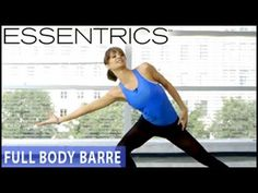 Essentrics Full-Body Barre Workout - YouTube