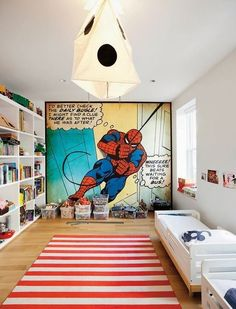 the boo and the boy: top 25 kids' room pins of 2013 @Nicole Novembrino Novembrino DiAlbert ro would crap if this was his room