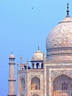 Taj up close