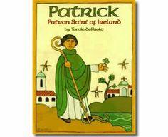 Patrick, Patron Saint of Ireland by Tomie De Paola. St. Patrick's Day books for children.  http://www.apples4theteacher.com/holidays/st-patricks-day/kids-books/patrick-patron-saint-of-ireland.html