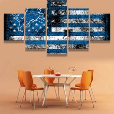 #17 Highway Unframed Modern Art Painting Print Canvas Picture Home Wall Decor