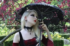 Best Gothic Clothing - Shop Stylish Goth Fashion Clothing for Cheap Dark Beauty, Goth Beauty, Punk Outfits, Gothic Outfits, Blond Goth, Medieval Gothic, Gothic Models, Steampunk Corset, Fantasy