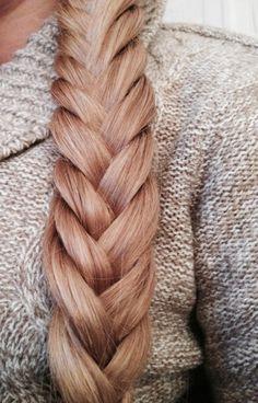 close up + braid