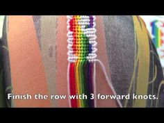 Mustache friendship bracelet tutorial - pattern #8600