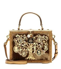 Dolce & Gabbana Dolce embellished shoulder bag