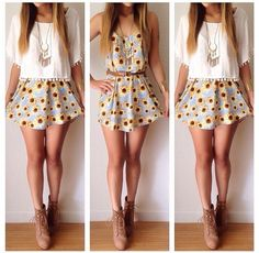 summer outfits for teenage girls tumblr - Google Search