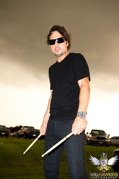 This is Dave Lombardo. The past drummer for Slayer. He was thinking of leaving, and just took short breaks from the band, then finally decided to leave permanently. He helped form the band with Jeff Hanneman and Kerry King.