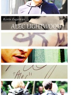 The Mortal Instruments: Kevin Zegers as Alec Lightwood