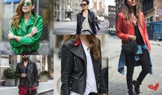 The classic, never out of fashion Leather Jacket is a statement piece for this…