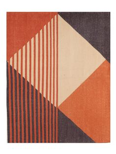 Tantuvi, Hand Dyed + Woven in India, Designed in NY. A new approach to traditional weaving and design with artisan in rural Rajasthan and the Deccan Plateau. Geometric Quilt, Geometric Art, Geometric Painting, Quilt Patterns, Modern Art, Abstract Art, Tapestry, Rugs, Wallpaper