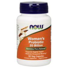 NOW Foods Women's Probiotic, 20 Billion, 50 Veg Capsules Flora Intestinal, Capsule, Health, Foods, Ebay, Kitchens, Woman, Salud