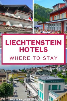 7 Amazing Liechtenstein Hotels: Where to Stay in Liechtenstein Berlin, European Road Trip, Unique Vacations, Travel Through Europe, Travel Articles, Travel Tips, Park Hotel, Bike Trails, Romantic Getaway