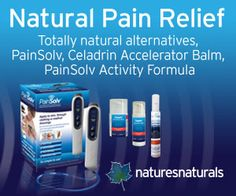 Unique and totally natural drug-free pain relief remedies and devices for chronic pain conditions
