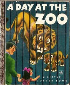 DAY at the ZOO Little Golden Book Vintage copyright 1950 Marion Conger, Tibor Gergely illus. I Love Books, Good Books, My Books, Story Books, Teen Books, Vintage Children's Books, Vintage Kids, Vintage Stuff, Vintage Images