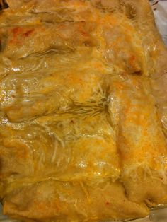 Marine Wife, Mommy & Life: ***Green Chili Cheese Chicken Enchiladas***