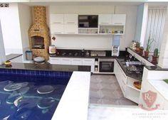 Casa maravilhosa em Capim Macio, linda mobília e piscina c/ bar molhado