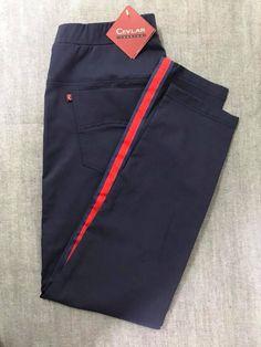 Spodnie z lampasem Cevlar BL01 kolor granatowy - Big Sister