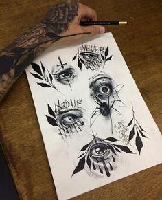 Chicano Tattoos, Body Art Tattoos, Sleeve Tattoos, Dibujos Tattoo, Desenho Tattoo, Tattoo Sketches, Tattoo Drawings, Japanese Tattoos For Men, Tattoo Apprenticeship