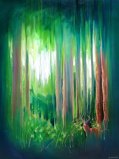 Deep in the Green Wood is a tall painting, 30x40inches and is of a red deer stag appearing in a green pine forest. Forest Art, Pine Forest, Animal Print Shop, Art Tutor, Red Deer, Canvas Prints, Art Prints, Selling Art, Abstract Landscape