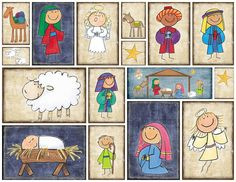 Nativity Blocks Freebie by simplyfreshdesigns.com