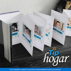 Crea una 'Línea de Tiempo' con fotografías de tu bebé.  ¿Quieres memorizar cada detalle del crecimiento de tu bebé? Con este original tip podrás guardar fotografías de tu hijo desde su nacimiento hasta el momento que tú lo decidas, incluso podrás colocarlo entre tus fotos de mesa.