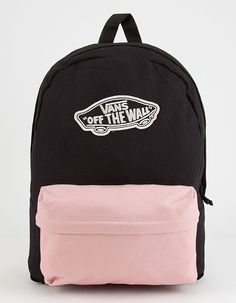Large Vans patch on front. Approx dimensions: x x x x polyester. Cute Backpacks For School, Cute Mini Backpacks, Trendy Backpacks, Leather Backpacks, Leather Bags, Vans School Bags, Vans Bags, Vans Backpack Girls, Backpack Purse